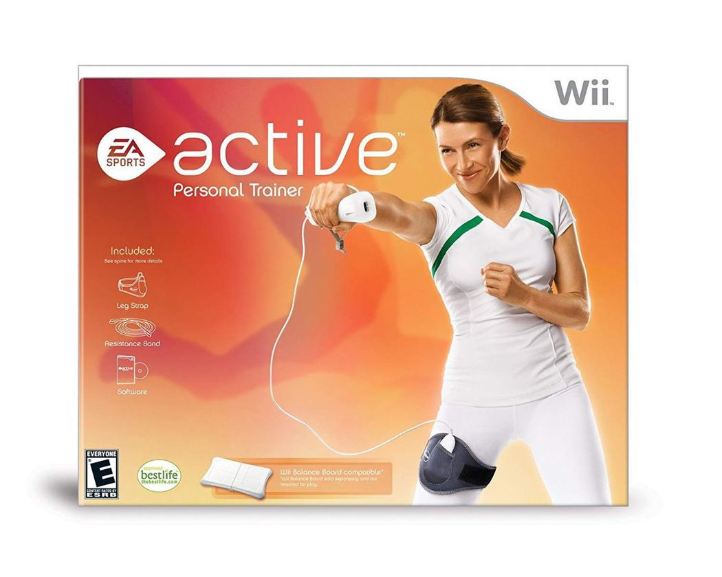 《EA Sports Active》標榜自己為一位虛擬的Personal Tra...