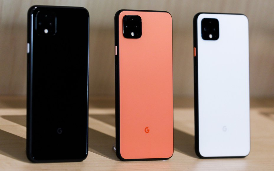 Google Pixel 4。 歐新社