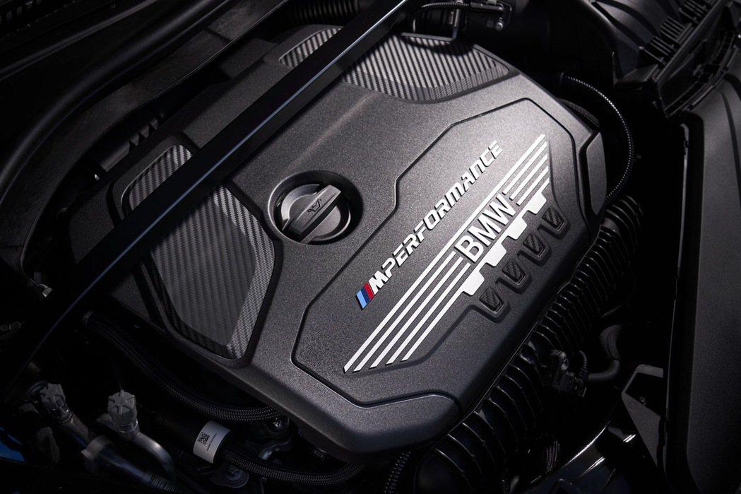 TwinPower Turbo直列4汽缸汽油引擎。 圖/汎德提供