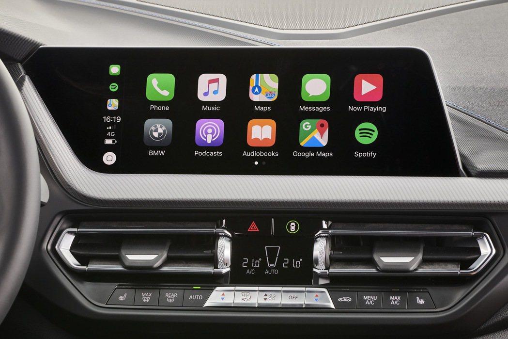 支援無線Apple CarPlay功能。 圖/汎德提供