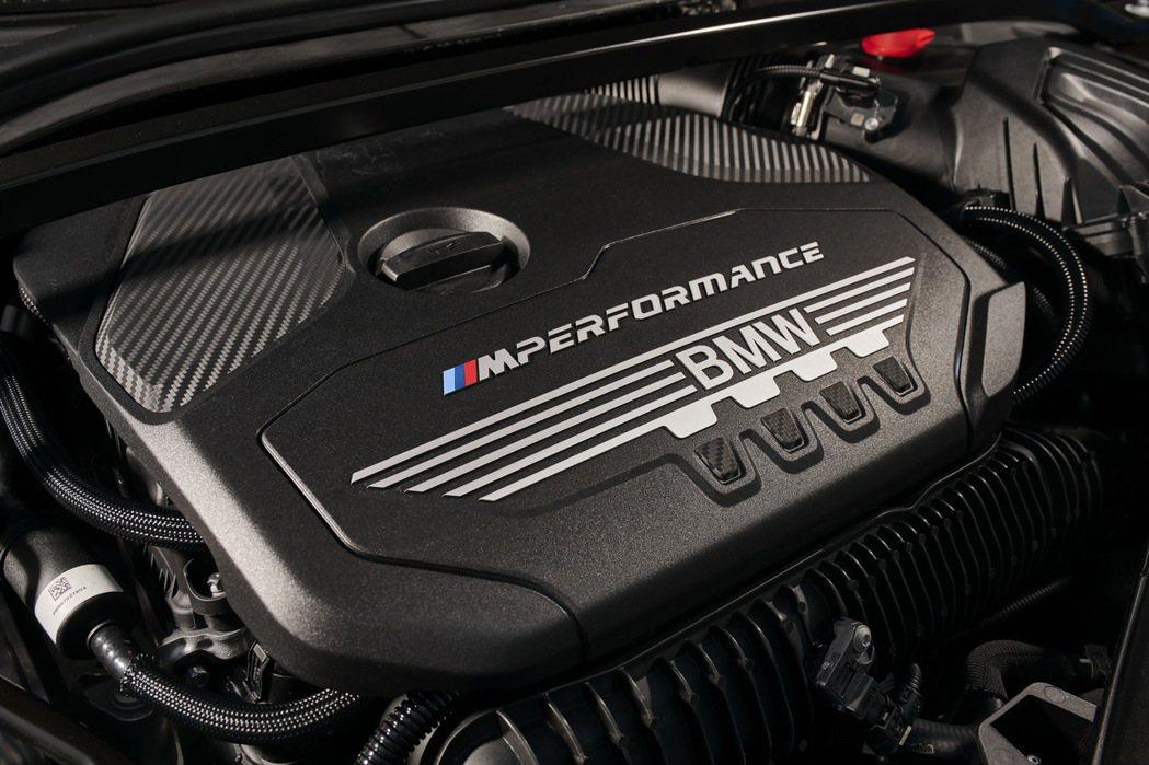 號稱史上最強的TwinPower Turbo直列4汽缸汽油引擎。 圖/汎德提供