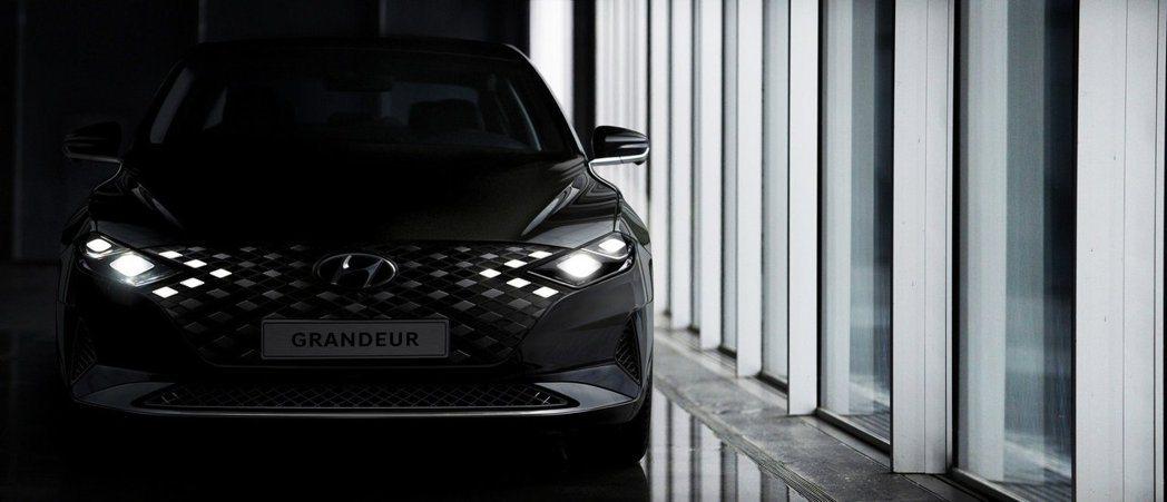Hyundai正式發布小改款Grandeur的預告照。 摘自Hyundai