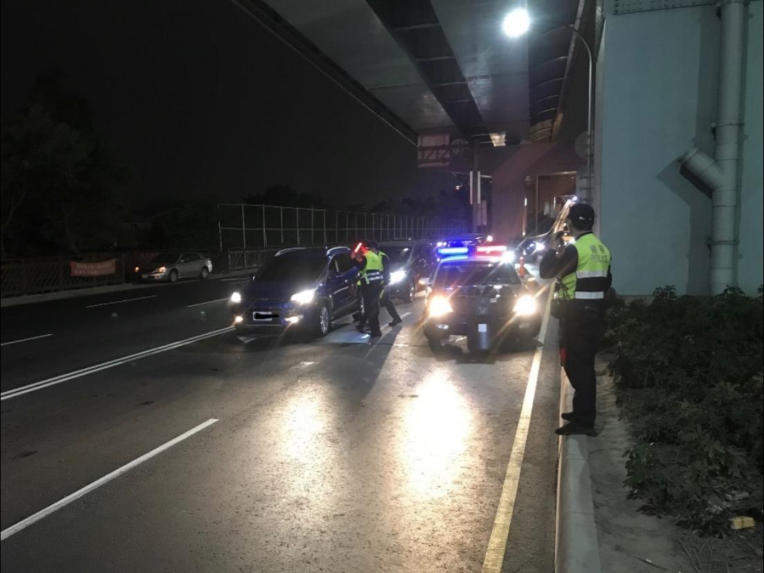 警方將加強各路段巡視,防止噪音車擾民安寧。記者巫鴻瑋/翻攝