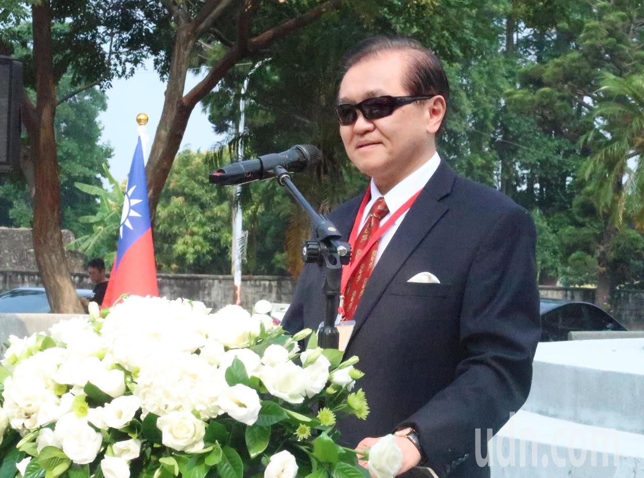 國軍眷村協會理事長趙麟表示,把中華民國土地建設成安和樂利的所在,這也是緬懷先人的...