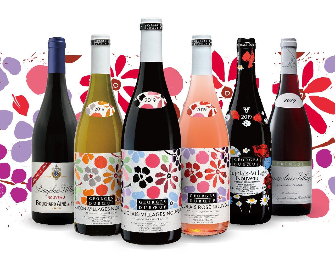 2019薄酒萊將於11月21日全球同步開瓶。圖/橡木桶洋酒提供【未成年請...