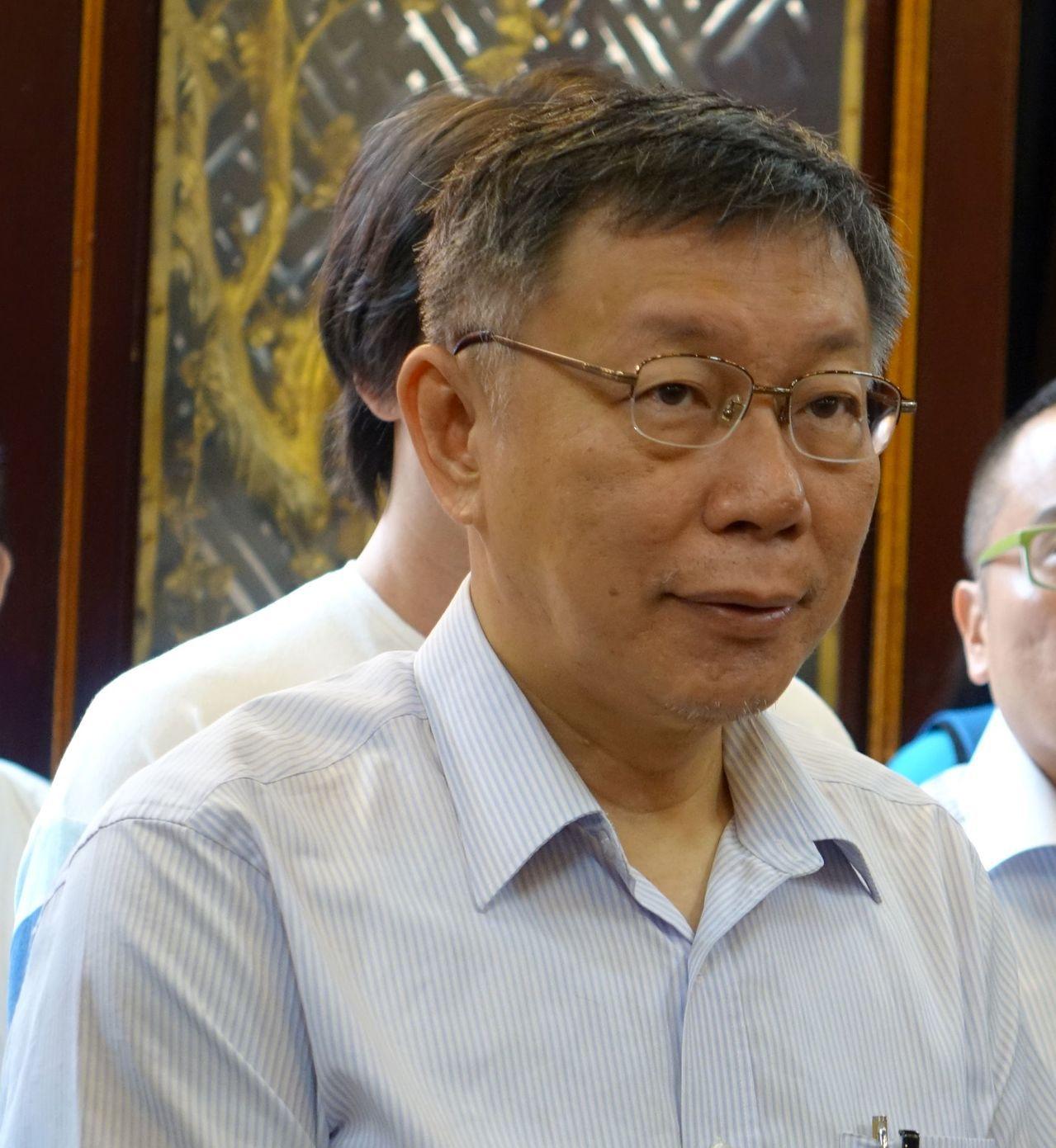 台灣民眾黨主席柯文哲明天將到高雄推介4位立委參選人。圖/聯合報資料照