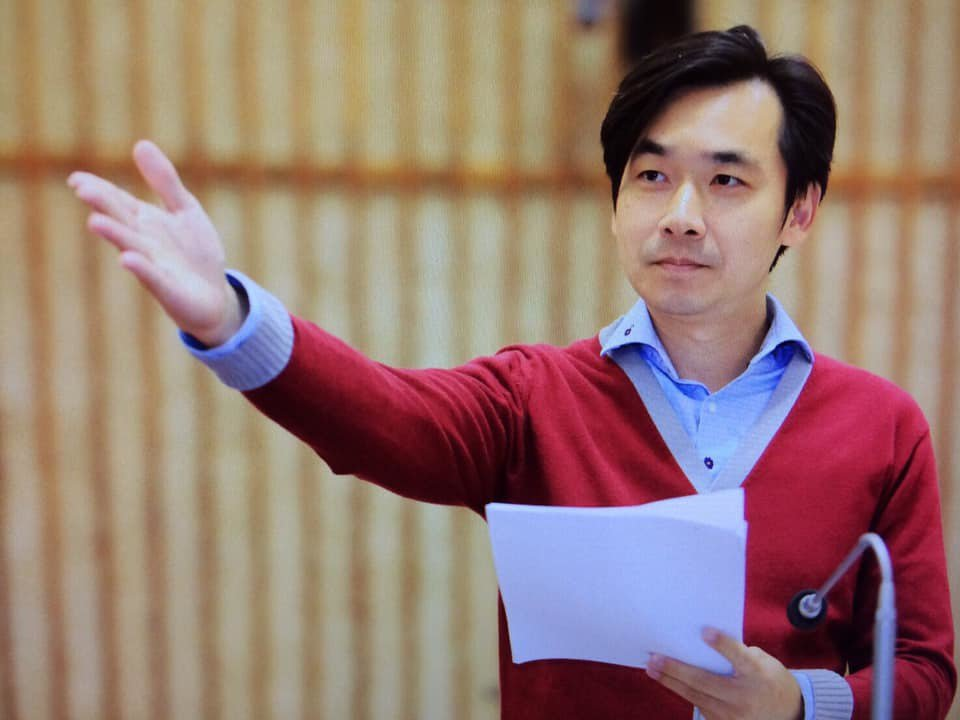 高雄市立委第一選區台灣民眾黨參選人羅鼎城。圖/翻攝羅鼎城臉書