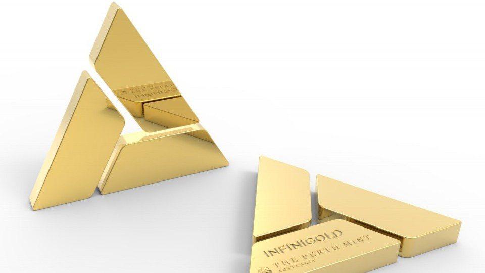 澳洲伯斯鑄幣廠利用區塊鏈技術推出數位黃金代幣。 圖/取自伯斯鑄幣廠