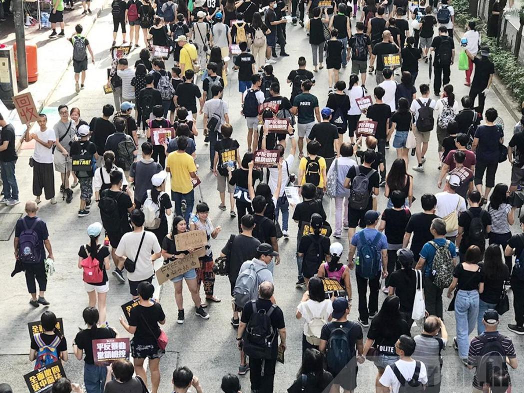 民陣表示,警方禁止民陣舉辦遊行,嘗試堵塞民意只會導致適得其反。圖:取自香港電台網...
