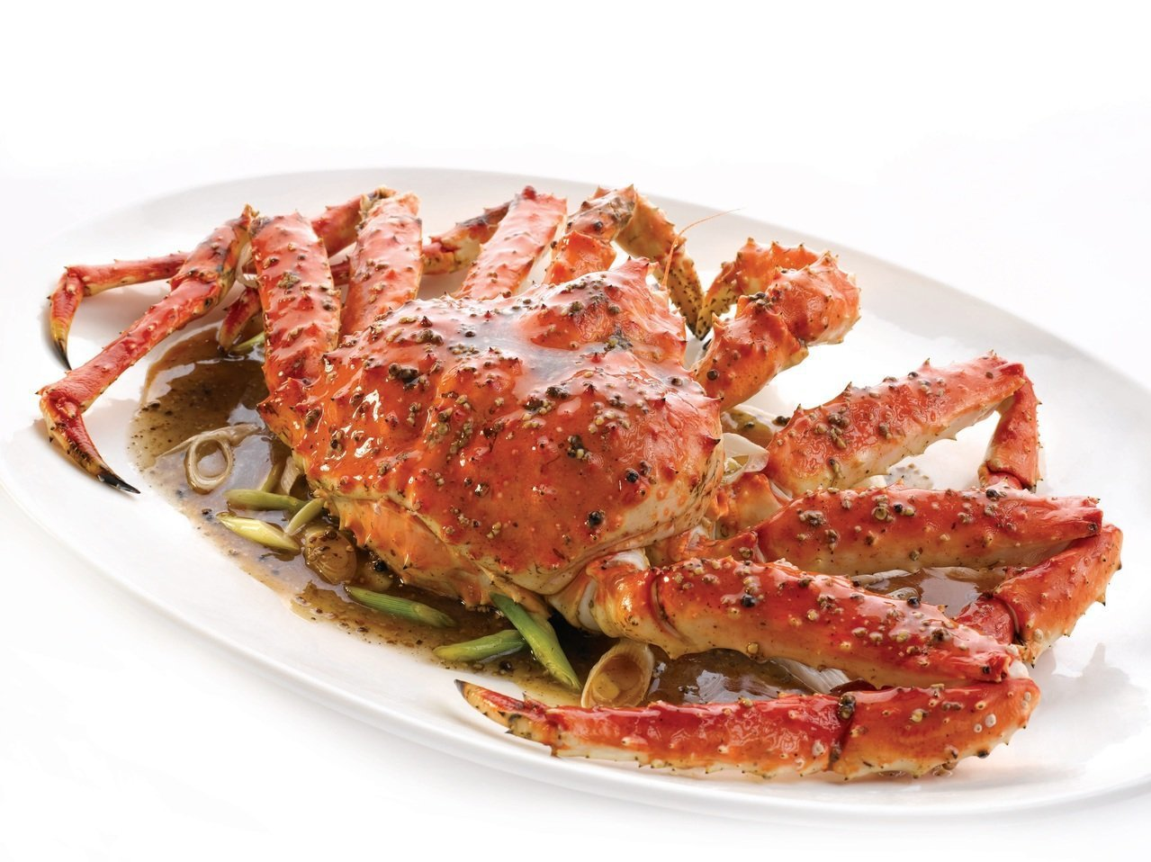 珍寶推出帝王蟹三吃的限量優惠,最高可享66折起。圖/珍寶提供