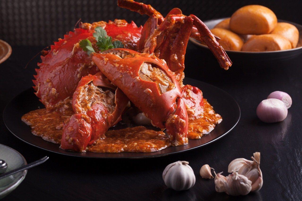 珍寶於10月推出辣椒螃蟹79折的平日優惠。圖/珍寶提供