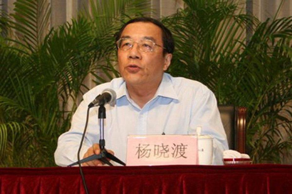 中共政治局委員、中紀委副書記、國監委主任楊曉渡。圖/星島日報