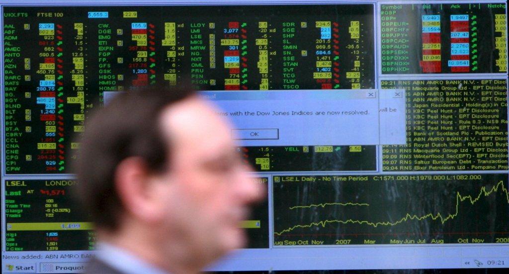 英國股市ETF資金流入創九個月來新高。歐新社。