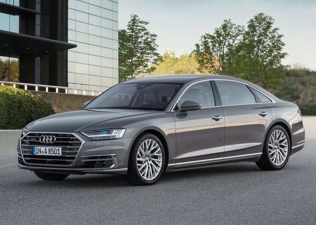 圖為新款Audi A8 quattro 。 摘自Audi