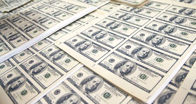 美元指數上周下跌1.04%至97.282,寫下17周來最差表現。本報資料照片