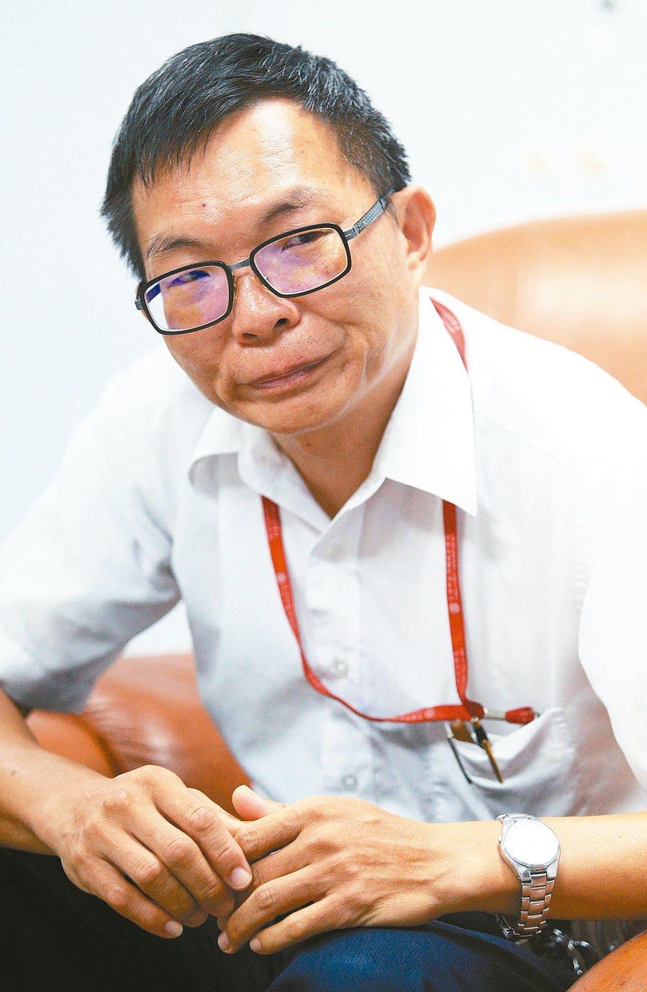 宜蘭機務分段長黃宗賢。 記者陳正興/攝影