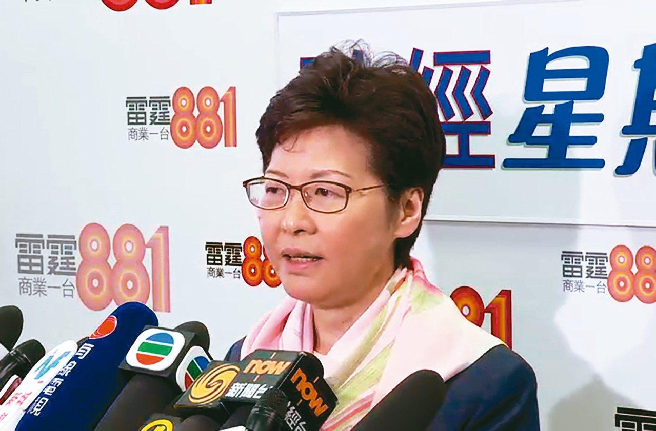 香港特區行政長官林鄭月娥昨表示,18日收到陳同佳親筆信,說他已經決定返回台灣自首...