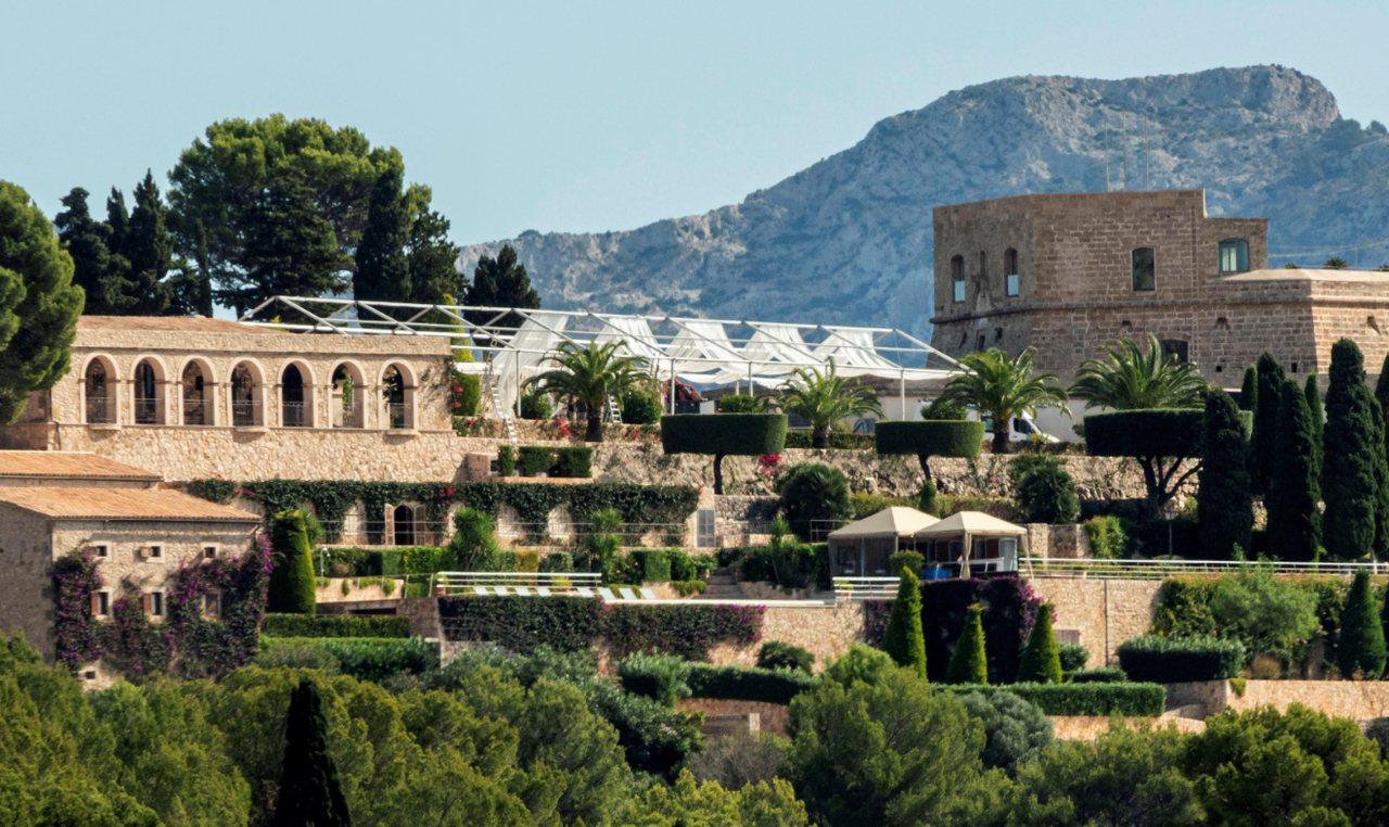 西班牙網球名將納達爾的婚禮在故鄉馬約卡島(Mallorca)一座城堡舉行。 歐新...