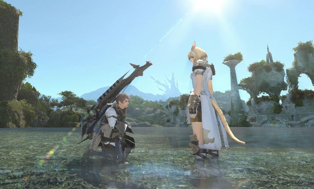 《我和父親的Final Fantasy XIV》電影劇照