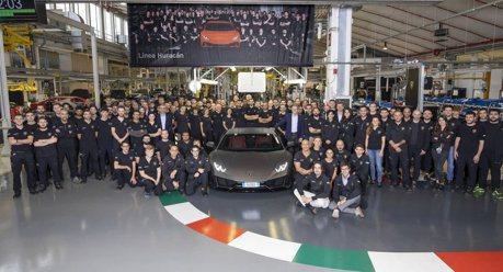 極度熱銷!Lamborghini Huracan 5年賣出了1.4萬輛 上一代可是花了10年!