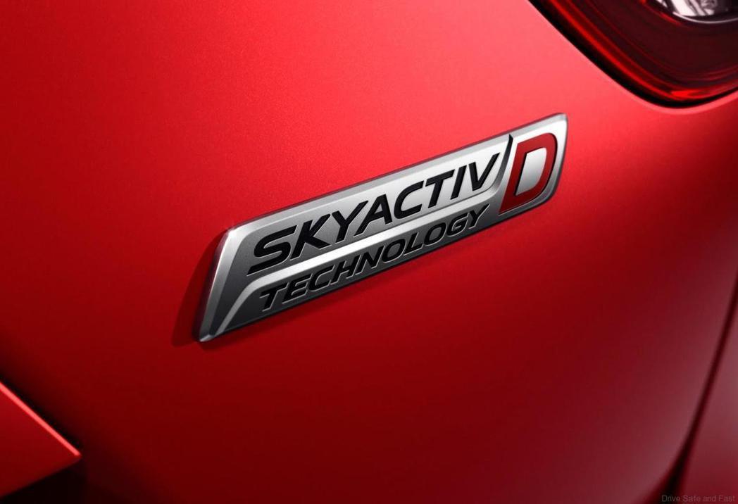 渦輪柴油SKYACTIV-D技術。 圖/Mazda提供