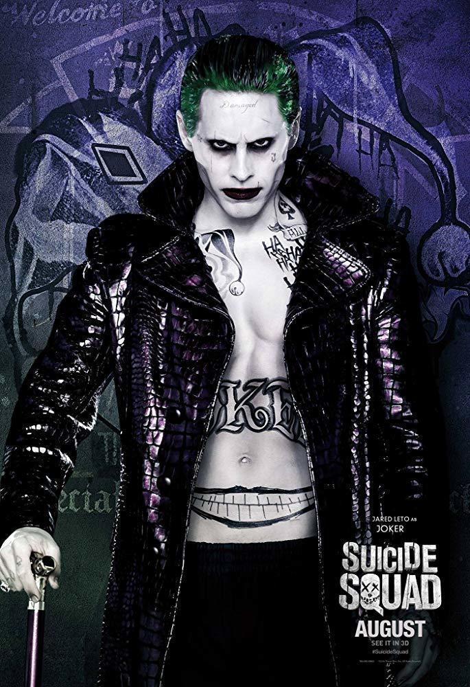 傑瑞李托在「自殺突擊隊」的小丑雷聲大雨點小,他自己也很不開心。圖/摘自imdb