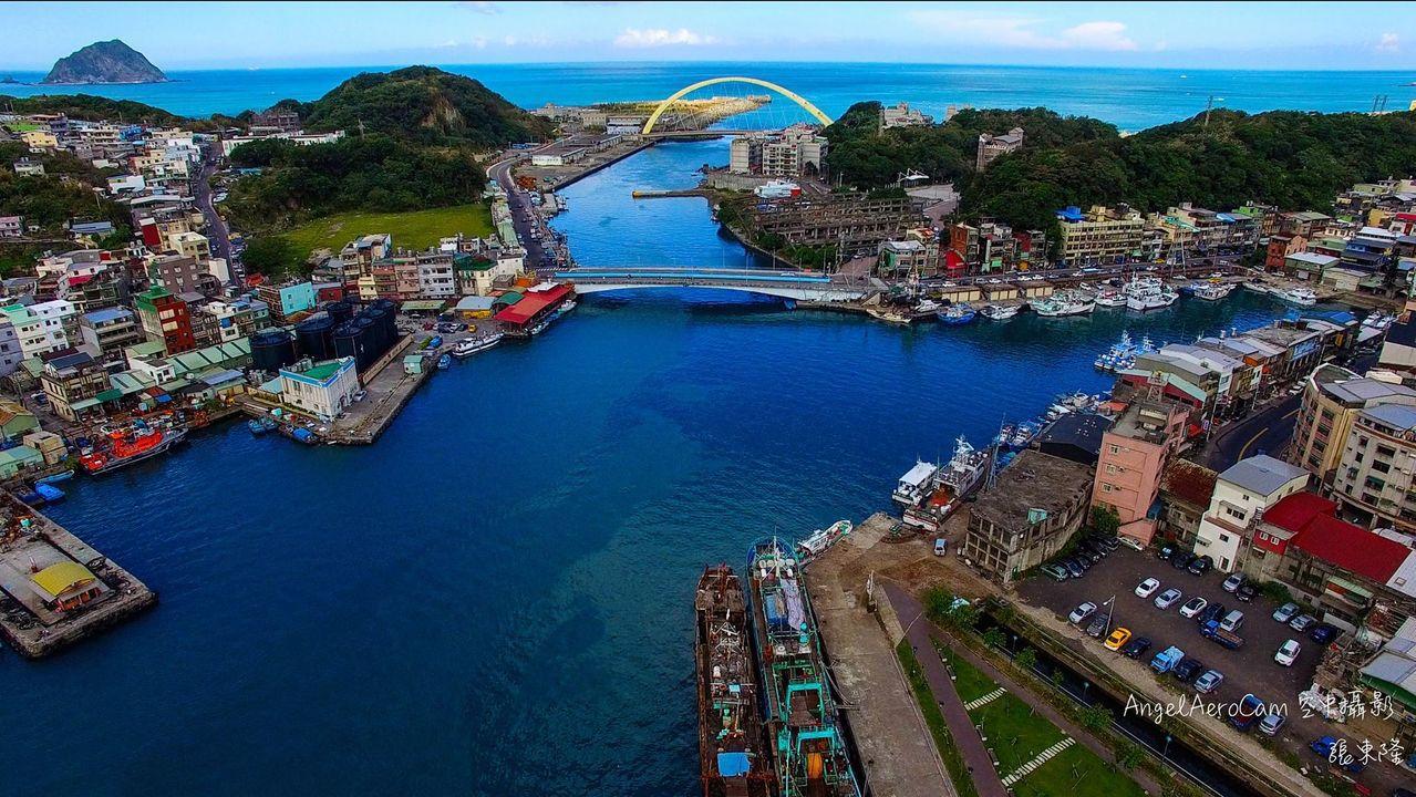 和平島適合做為開發潛艦園區,重回過去造船風光? 圖/空中攝影張東隆提供