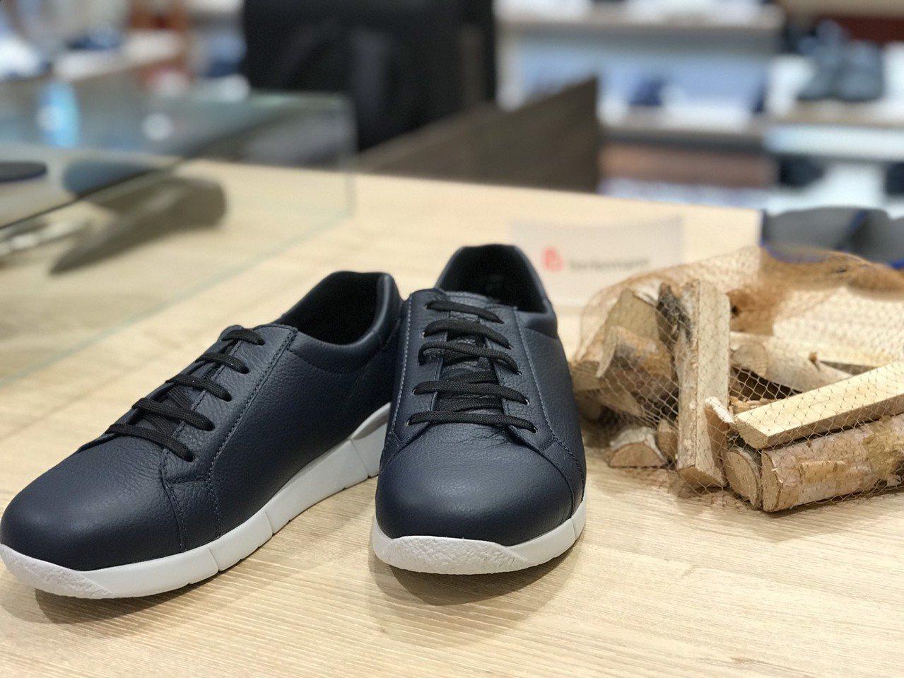 健康鞋不只具有護腳的功能,外型設計也相當時尚美觀。圖/Berkemann提供