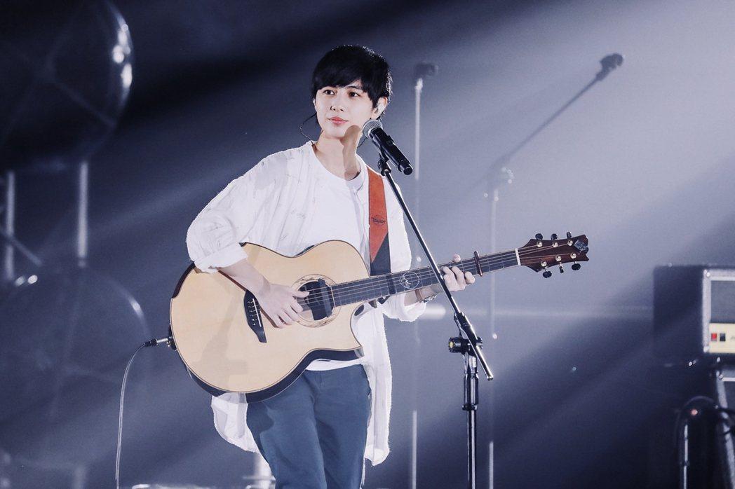 魏嘉瑩在選手之夜帶來多首歌曲。圖/相信提供