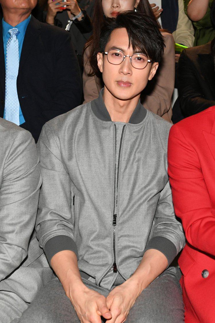 品牌亞太區眼鏡代言人吳尊現身BOSS 2020上海早秋大秀。圖/BOSS提供