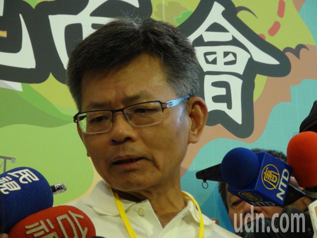 前高縣長楊秋興認為明年選舉國民黨會三輸。記者謝梅芬/攝影