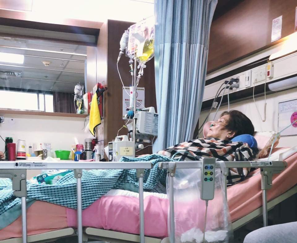 陸元琪為病母公開徵求廠商贊助電動床。圖/摘自臉書