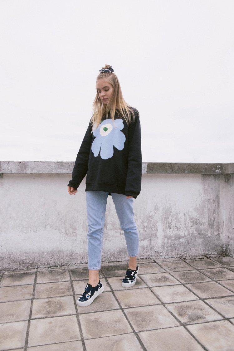 Marimekko Kioski街頭服飾系列簡約的設計卻帶著過目難忘的搶眼特質。...