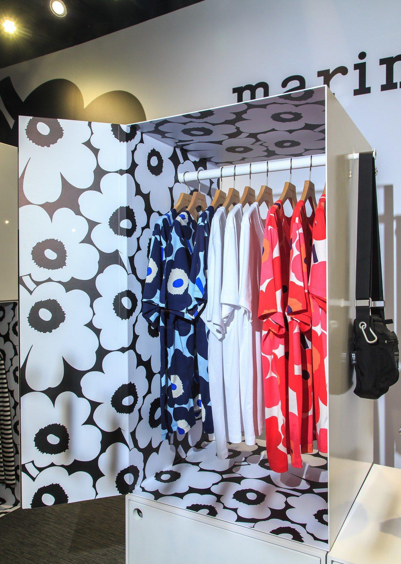 Marimekko Kioski街頭服飾快閃店。圖/Marimekko提供