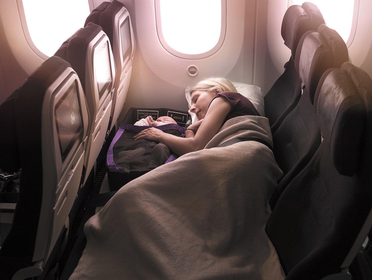 紐西蘭航空推出快閃促銷活動,經濟艙來回機票未稅最低18,800元起。圖/紐西蘭航...