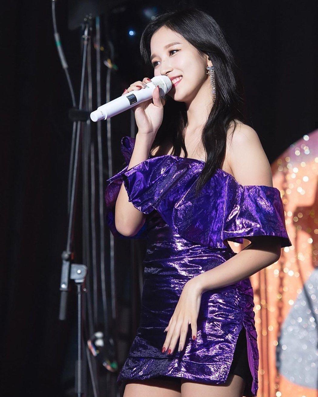 Mina光是登台就已經讓粉絲非常驚喜。圖/摘自jypexmina IG