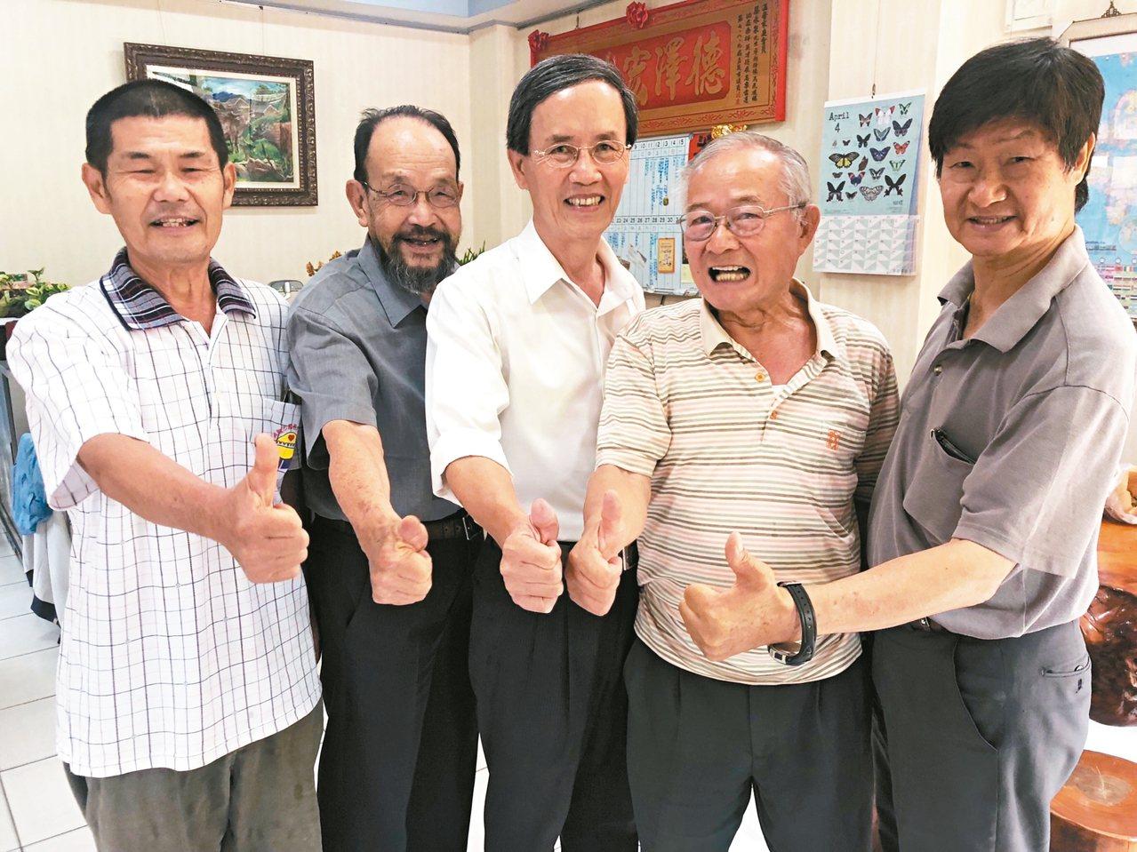 嘉義市議員蔡永泉日前在台聯黨成員的支持下,宣布投入選戰。 圖/聯合報系資料照片