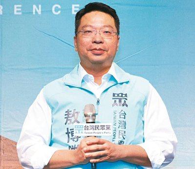 台灣民眾黨推出敖博勝投入高雄市第八選區,敖曾是國民黨黨代表。 圖/台灣民眾黨提供