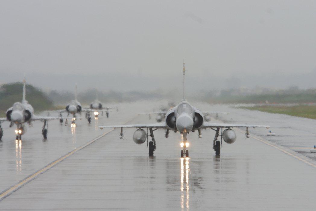 幻象2000戰機。 圖/聯合報系資料照片