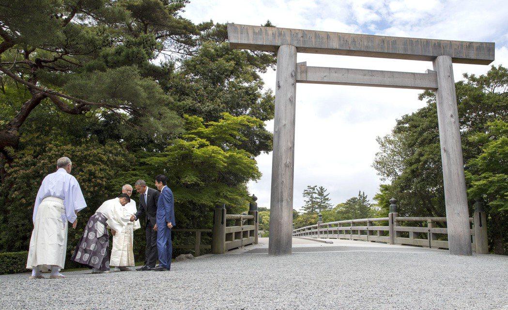 日相安倍晉三選擇伊勢志摩國立公園舉行2016年的G7峰會。(美聯社)