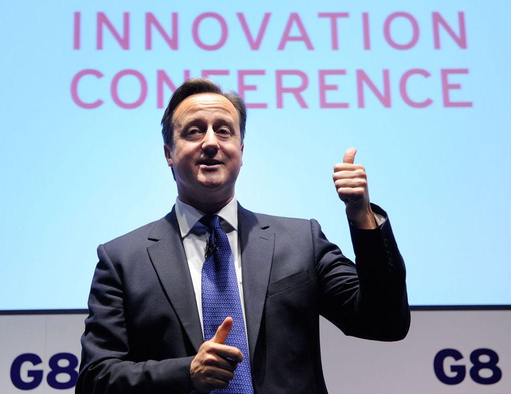 英國前首相卡麥隆在2013年擔任G8峰會東道主,選擇偏遠的北愛爾蘭厄恩湖高爾夫球...
