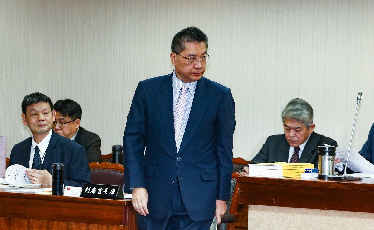 內政部長徐國勇。 記者曾原信/攝影