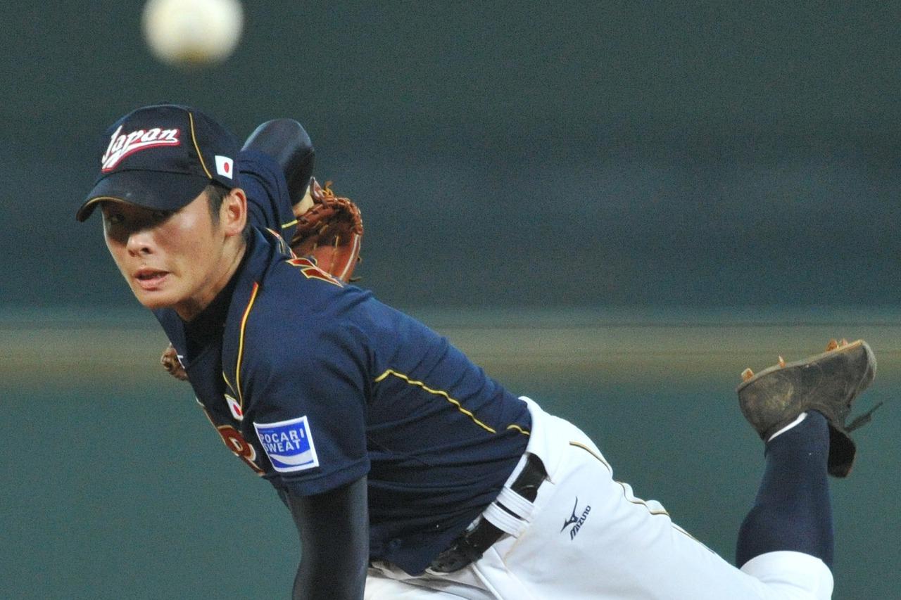 樂天隊投手松井裕樹將辭退12強賽。 聯合報系資料照