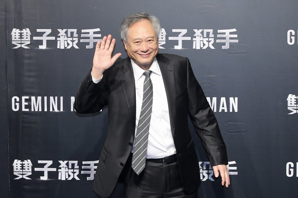 導演李安出席「雙子殺手」紅毯首映。記者林伯東/攝影
