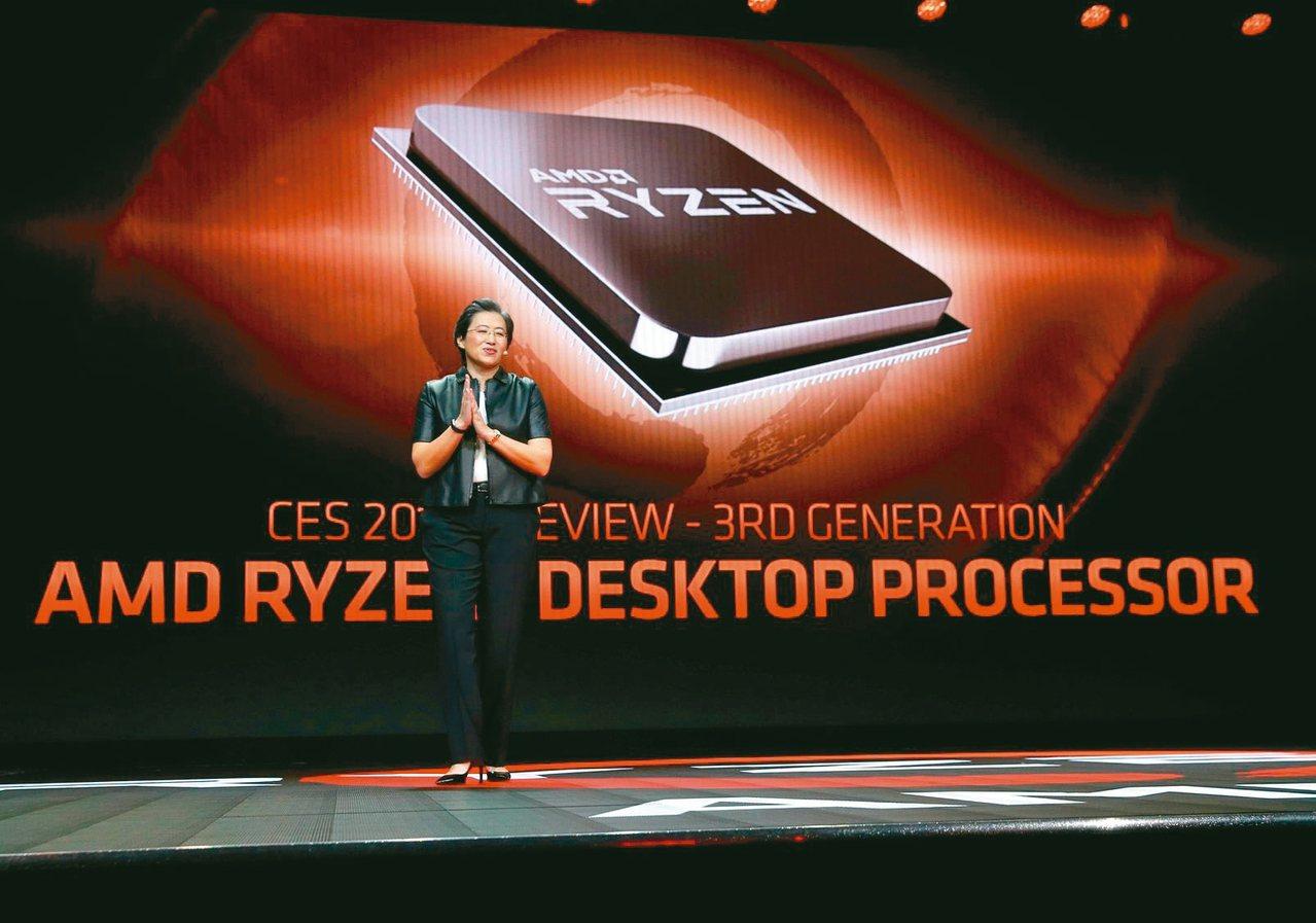 挾7奈米Ryzen熱賣,超微CPU在韓、日市占率已超越英特爾。 本報系資料庫
