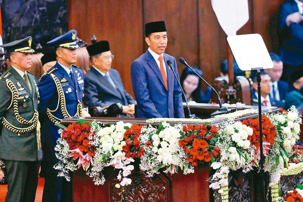 印尼總統佐科威 (路透)