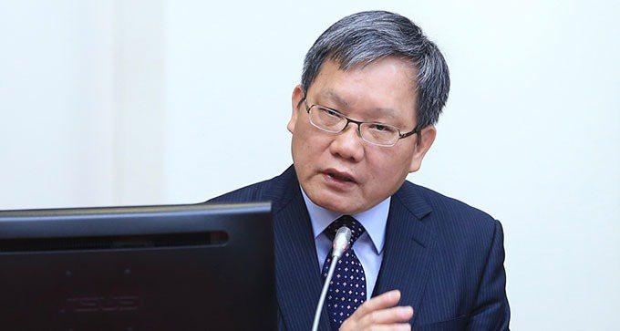 財政部部長蘇建榮。記者林伯東/攝影