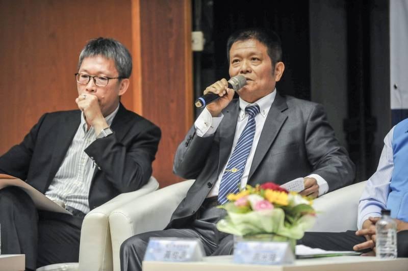 謝榮聰認為中美貿易戰,是台灣轉機的來臨。 彰化桂冠旅館/提供