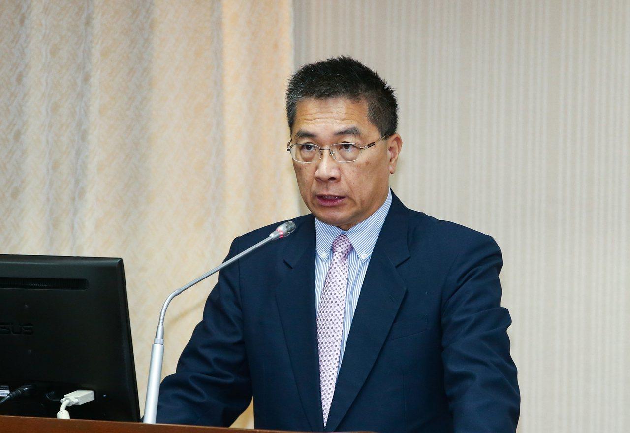 內政部長徐國勇。 聯合報記者曾原信/攝影
