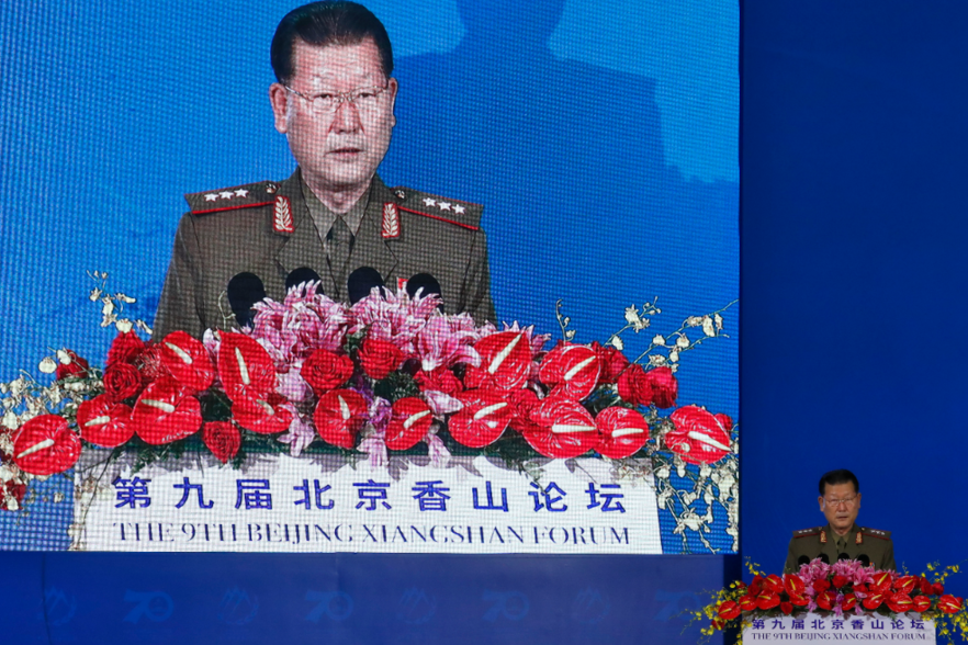 北韓人民武力省副相金亨龍。 美聯社